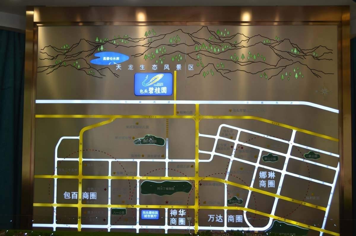 包头碧桂园位置图