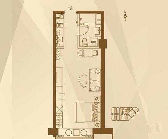三迪曼哈顿户型图