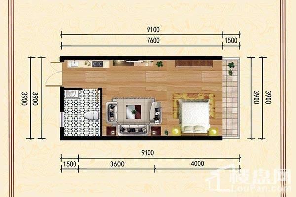 黎筑·金色城邦户型图