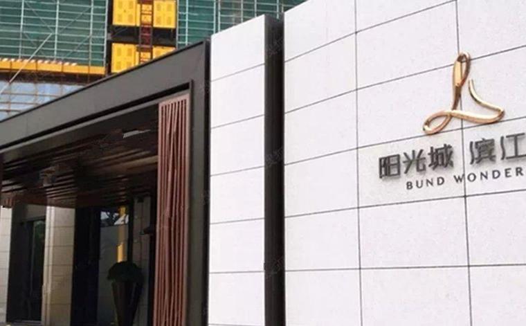 阳光城滨江悦实景图