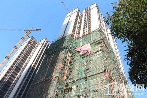 鸿锦国际城实景图