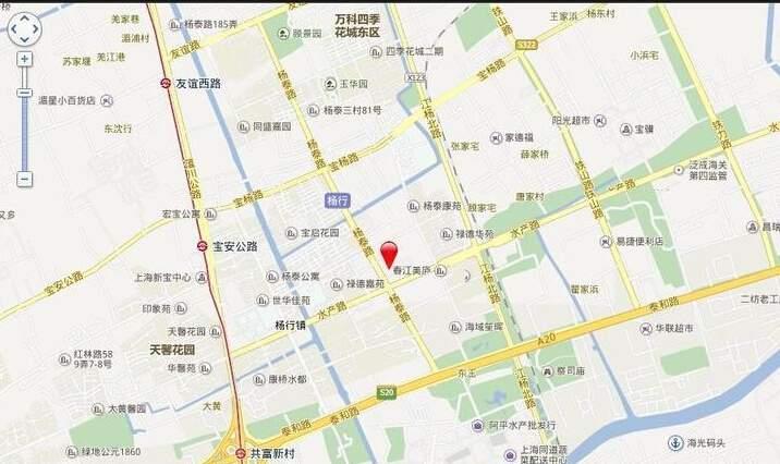招商花园城位置图