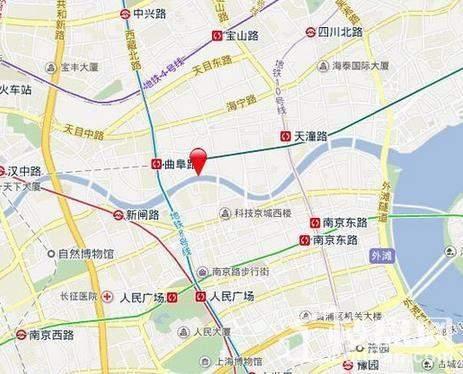 华侨城苏河湾商铺位置图