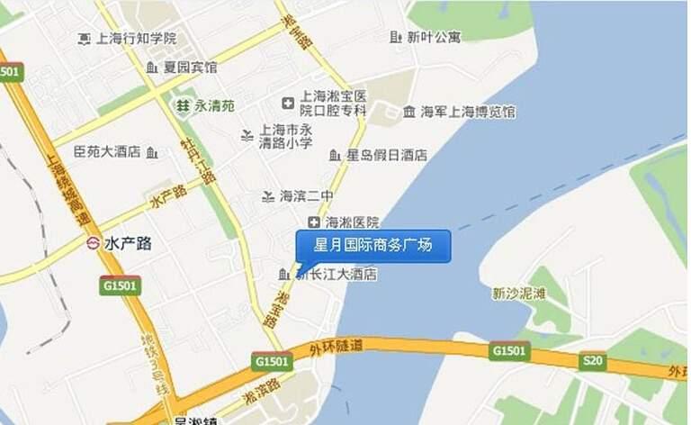 星月国际商务广场位置图