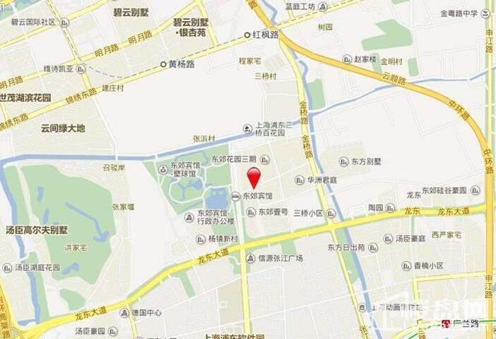 合生东郊华品园位置图