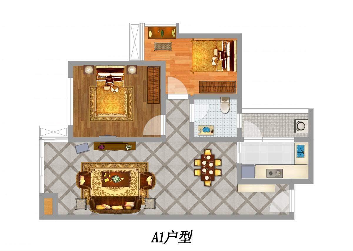 名门江山户型图