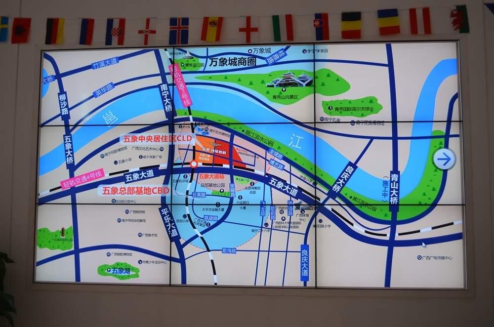 云星钱隆首府位置图