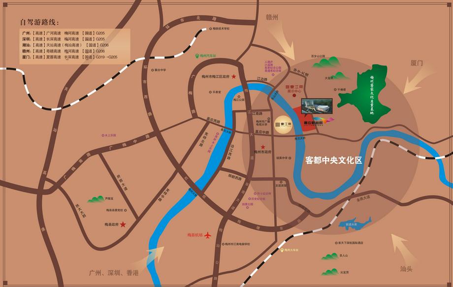 壹江南位置图