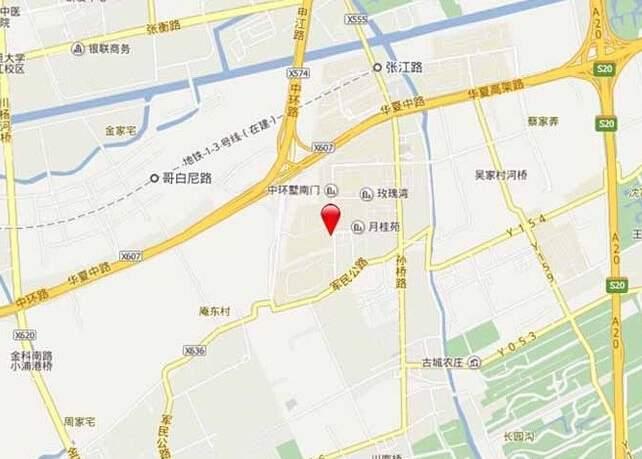 东郊紫园位置图