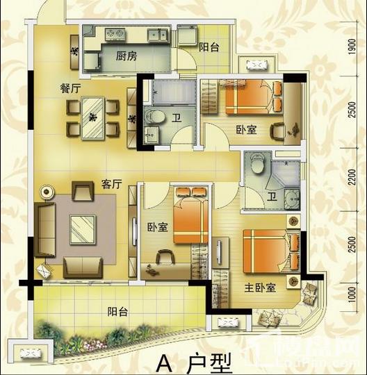 梅江碧桂园二期户型图