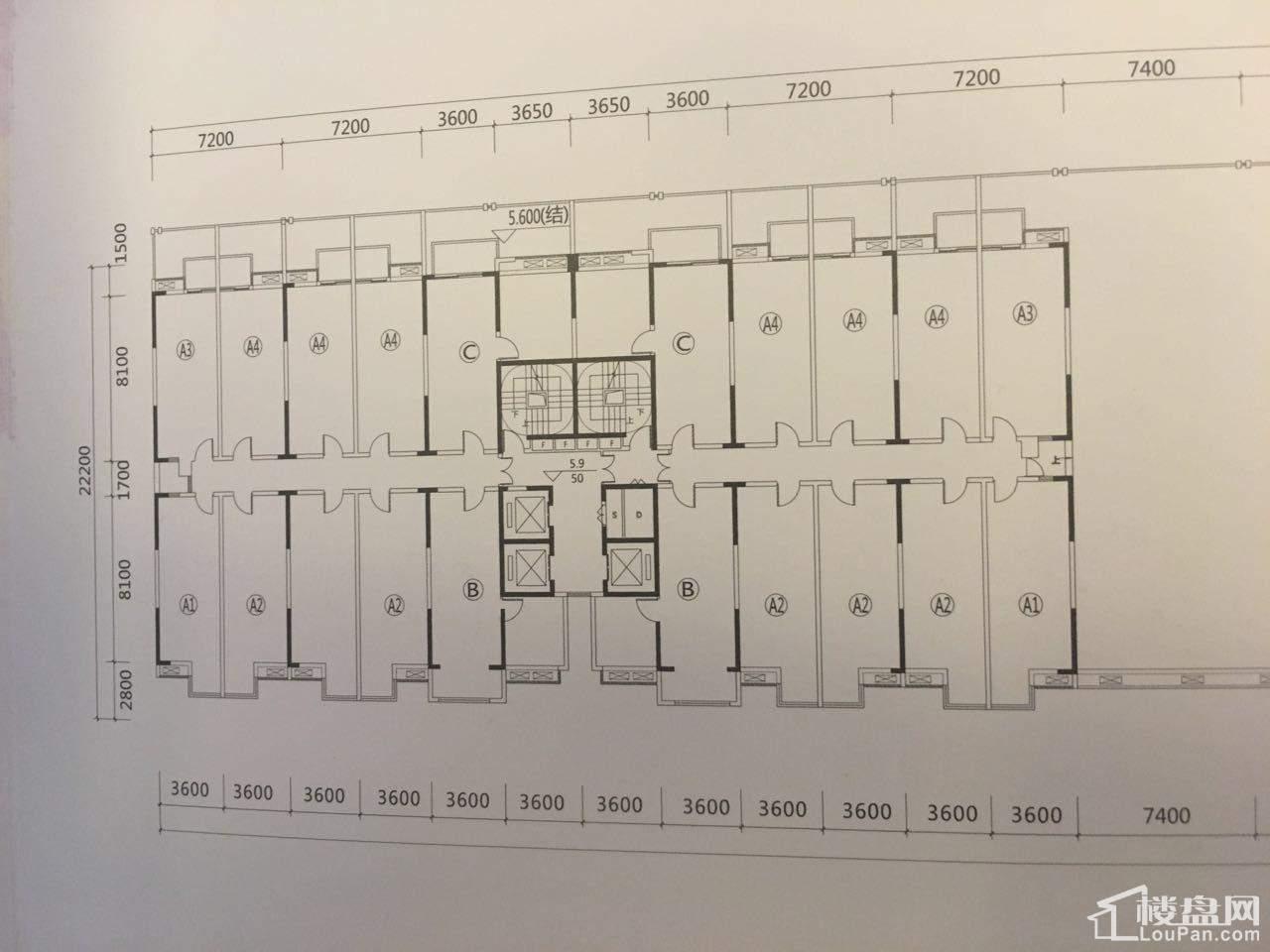 14#楼、15#楼户型平面图