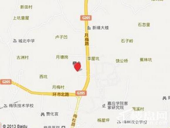 梅江碧桂园二期位置图