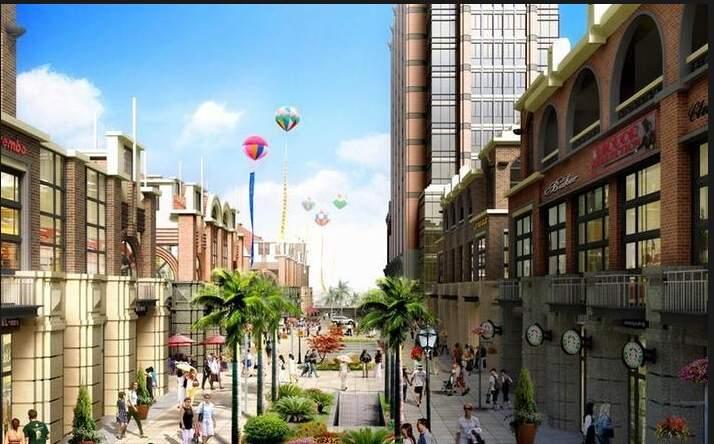 泰富商业广场效果图