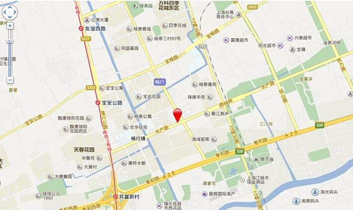 泰富商业广场位置图