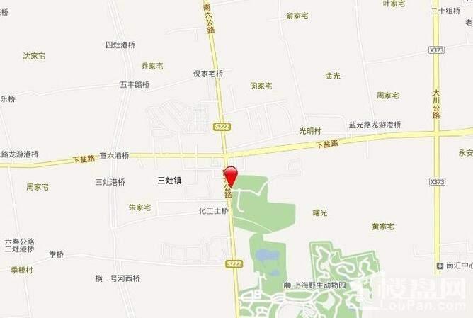 古北香堤岭户型图