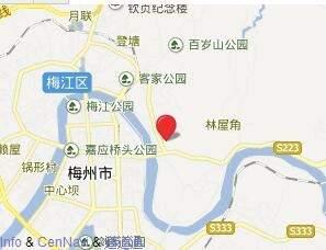 東山谷·碧桂园位置图