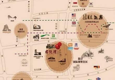 新虹桥君悦湾位置图