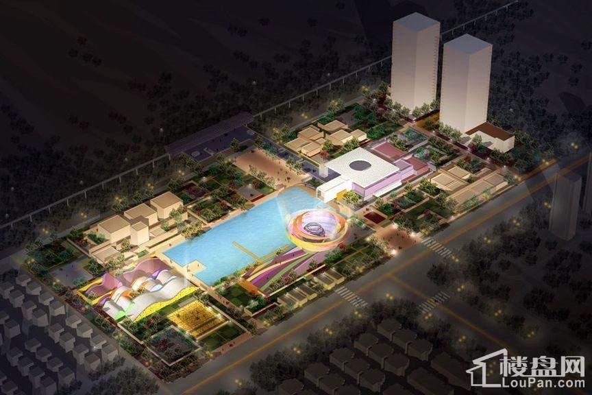 西安国际美术城效果图