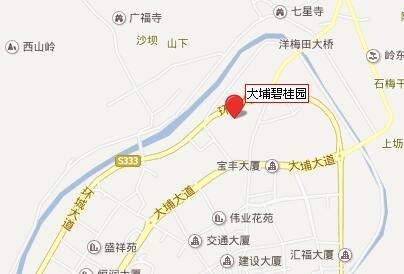大埔碧桂园位置图