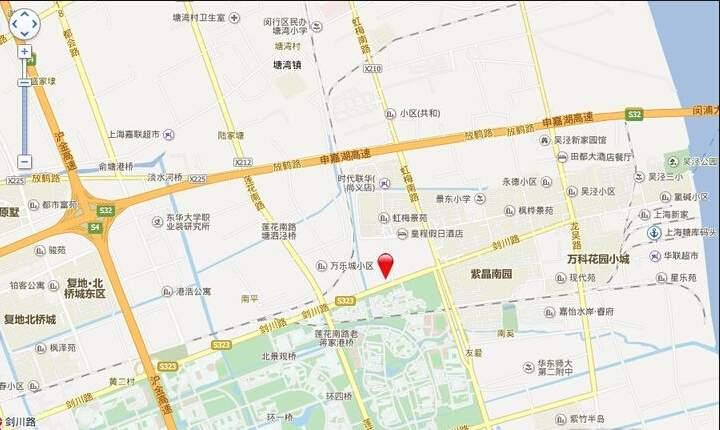吴泾宝龙广场位置图