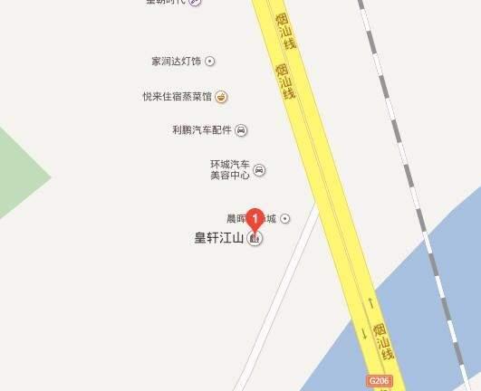 皇轩江山位置图