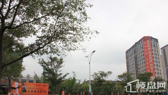 中茂世纪财富广场实景图