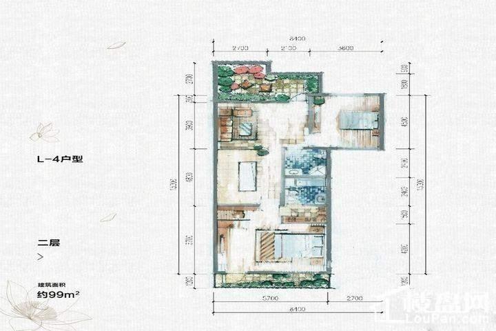 L4户型二层