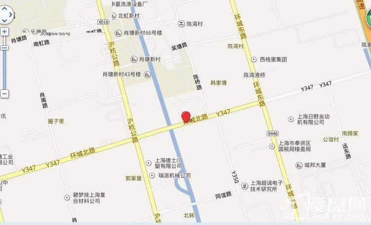 嘉兴尚东名邸位置图