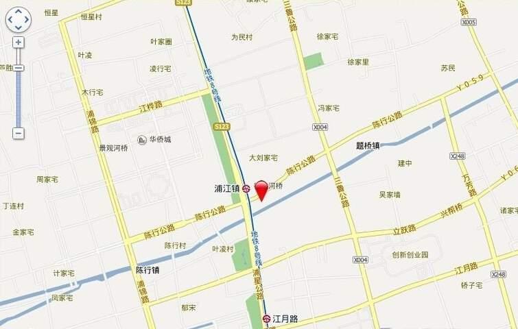 漕河泾DP-PARK位置图