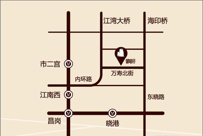 馨晴轩位置图