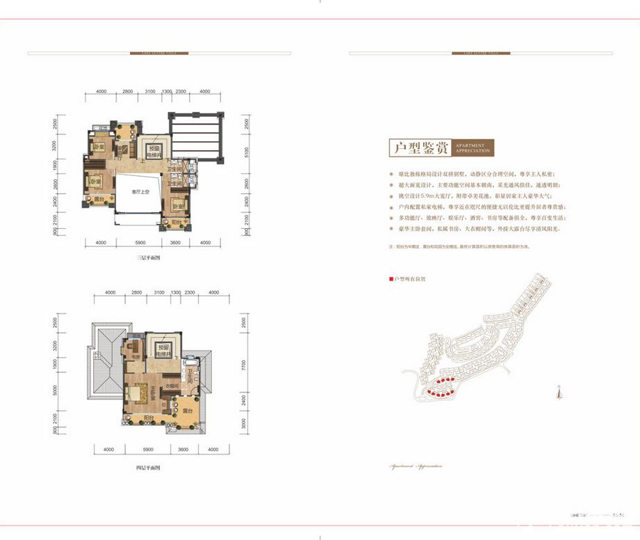 熙和湾·湖璟山庄户型图