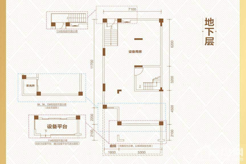 3期4#-11#映山户型屋地下层