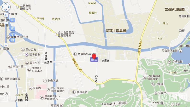 佘山玺樾位置图