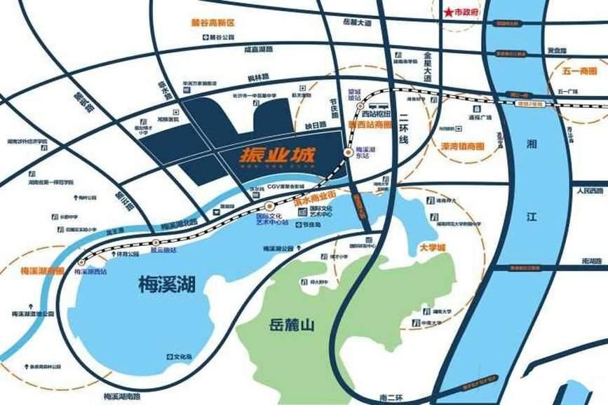 振業城位置圖