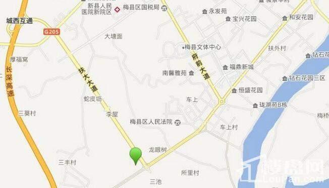 锦绣国际·家居博览中心位置图