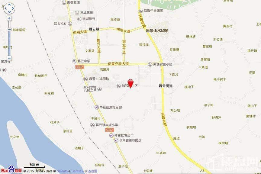 凯富南方鑫城 位置图
