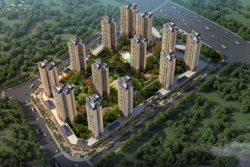 中国铁建国际花园效果图