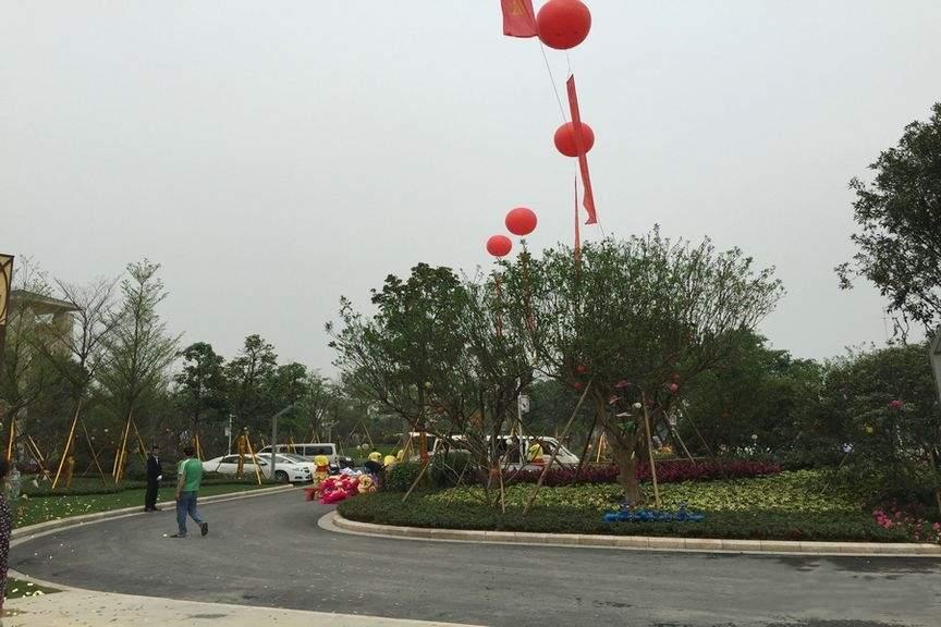 中国铁建国际花园实景图