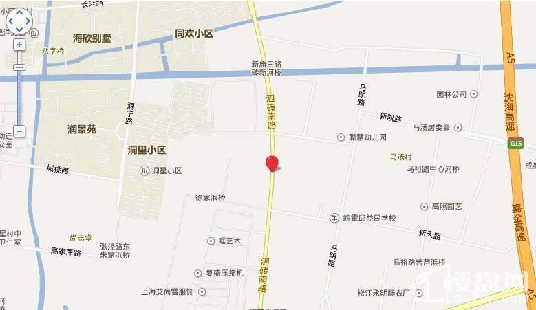 名企公馆位置图