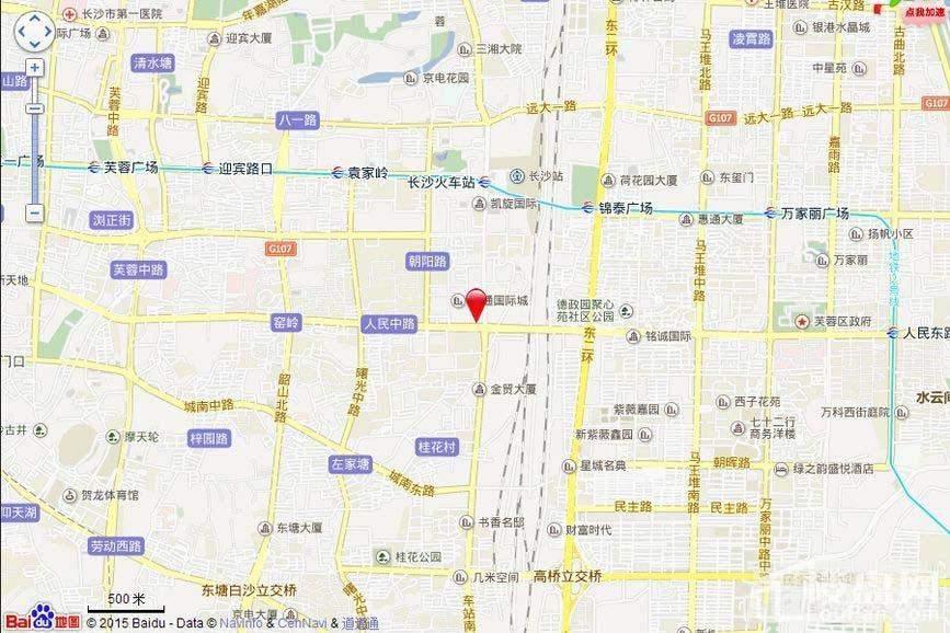宇成朝阳广场 位置图