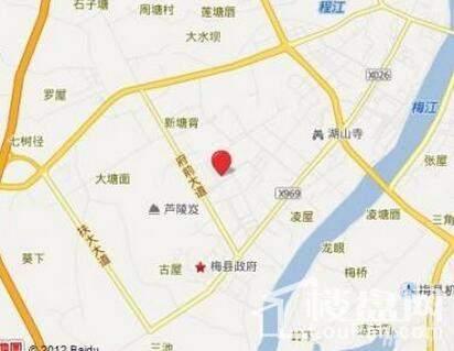 锦绣花城位置图