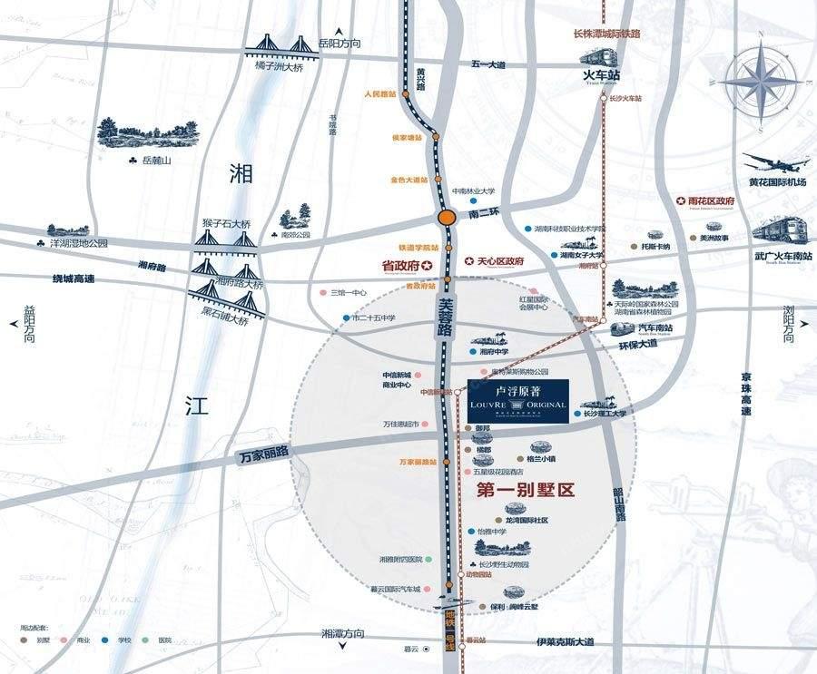 卢浮原著位置图