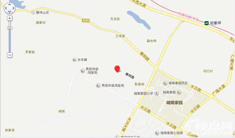 中国铁建万国城位置图