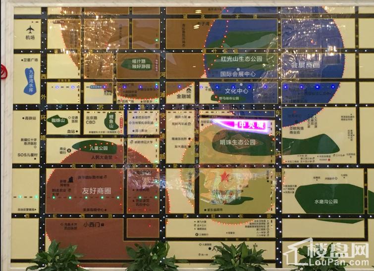 丽景·中央城位置图