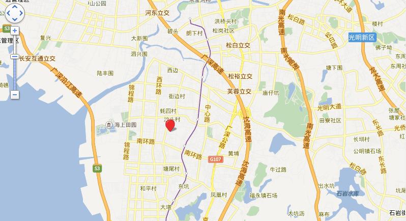 中熙香莎中央位置图