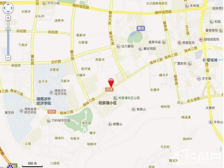 C Park 天悦城交通图