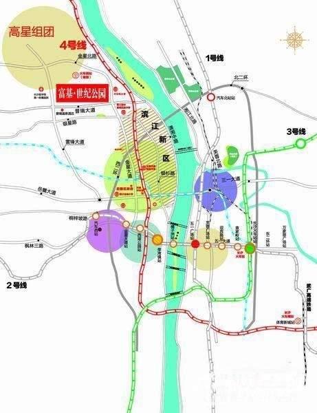 富基世纪公园位置图