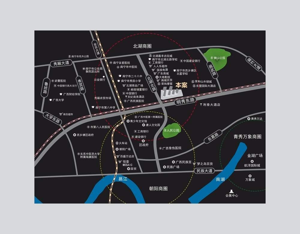 大唐天城位置图