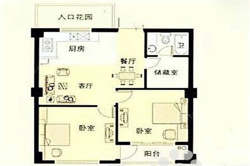 湘州阳光户型图