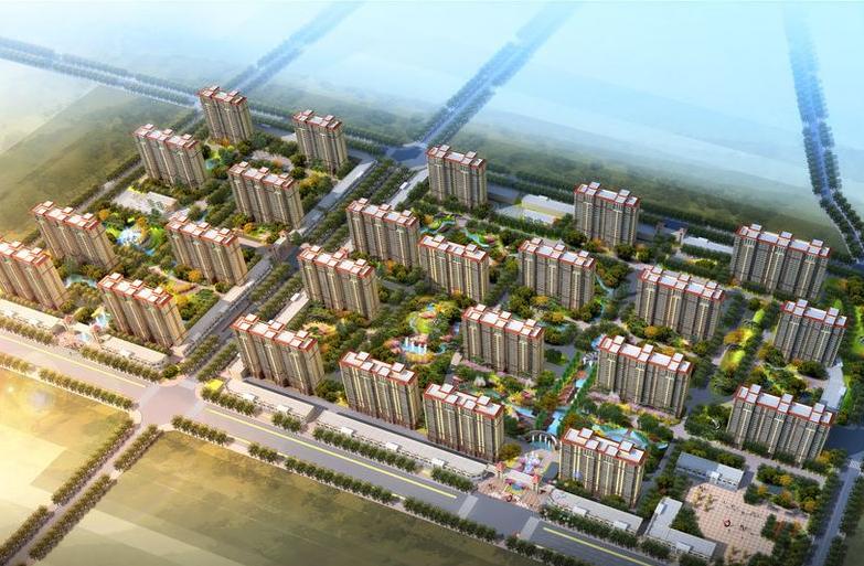 霸州丽水康城高清图